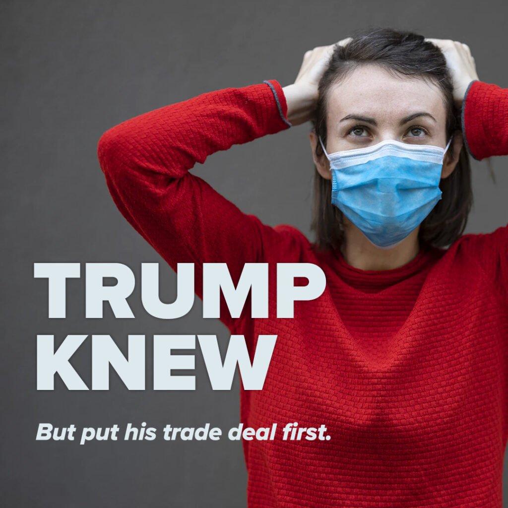 trump knew trade