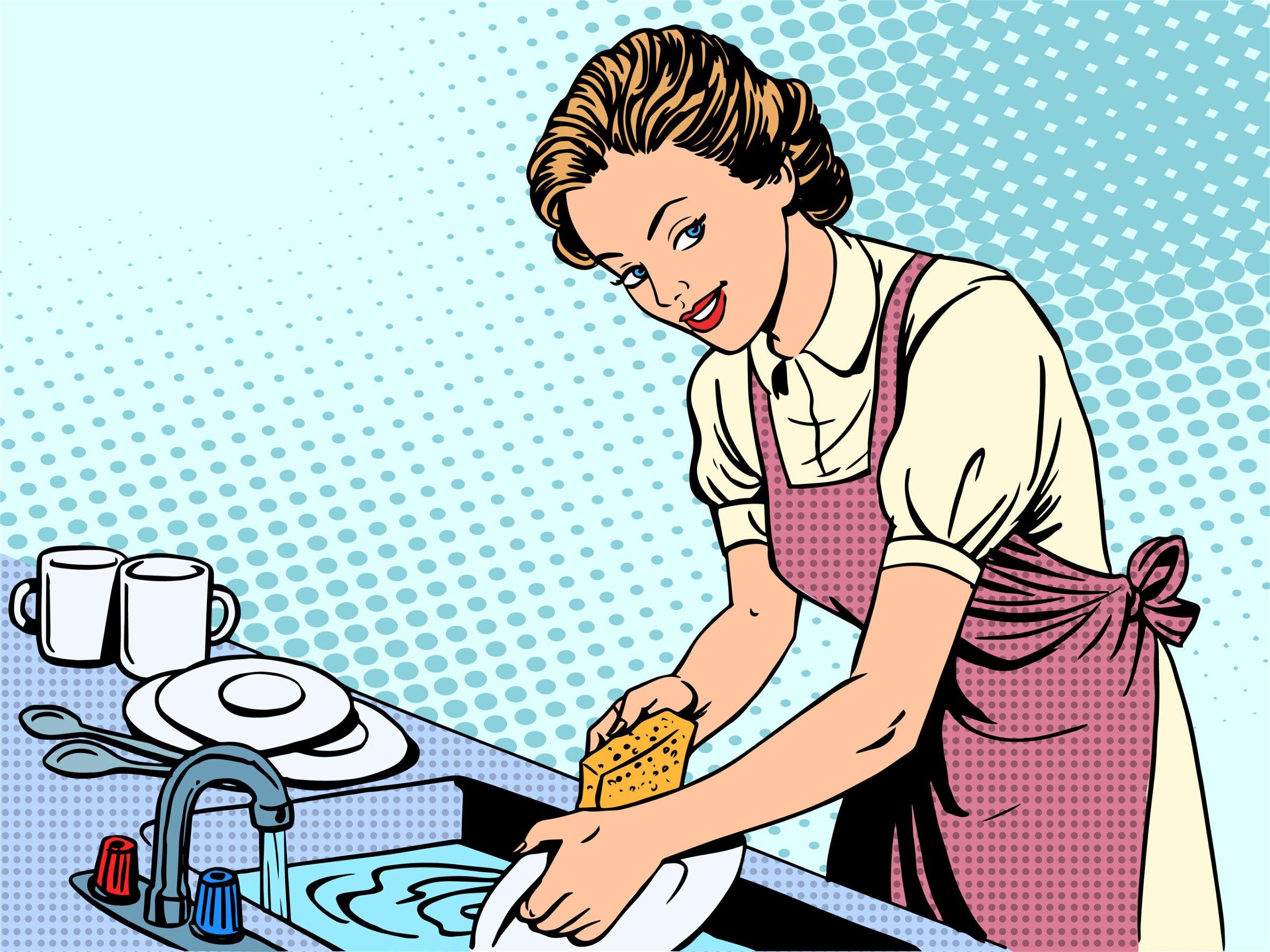 Trump Tells Women to Buy Dishwashers