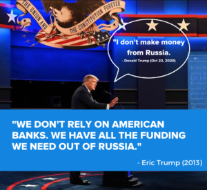 Trump Eric Russia