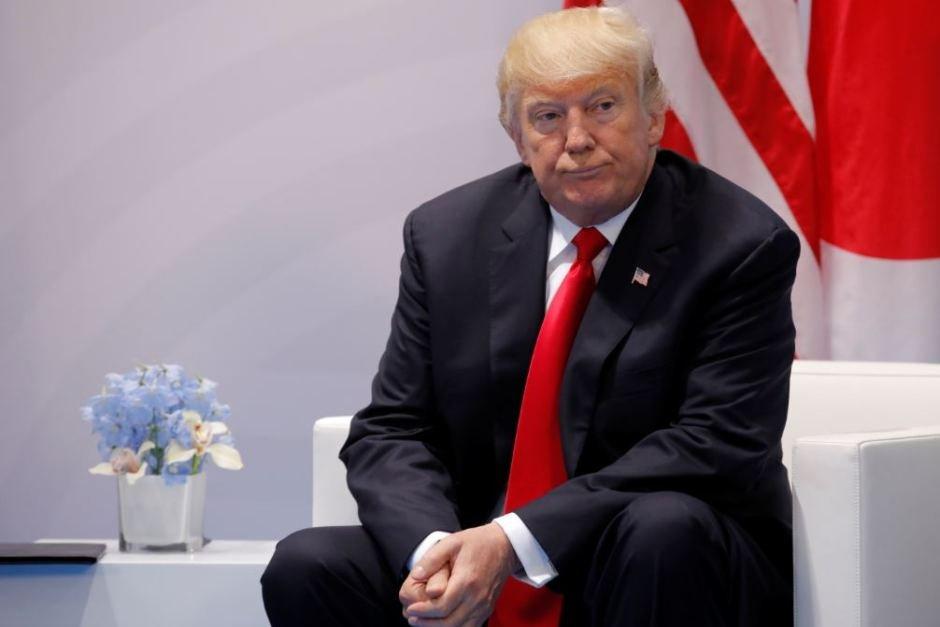 Sad Trump