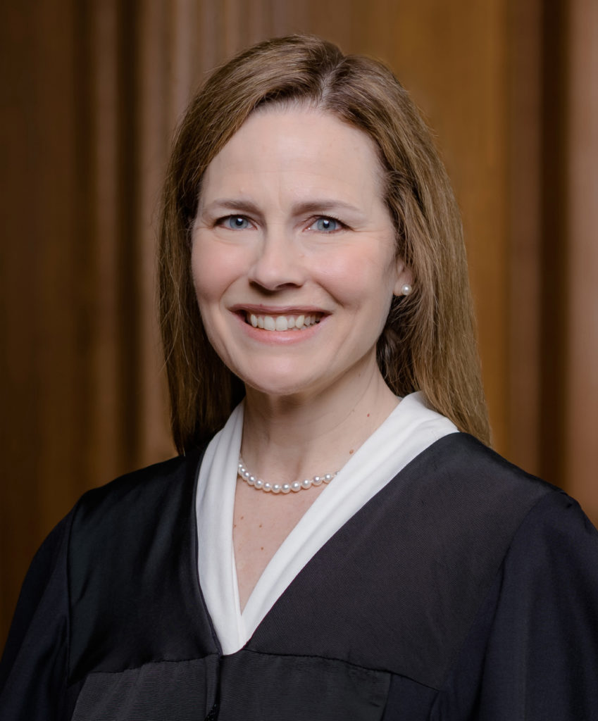 Amy Coney Barrett, like 5 of her colleagues was appointed by a President that lost the popular vote.
