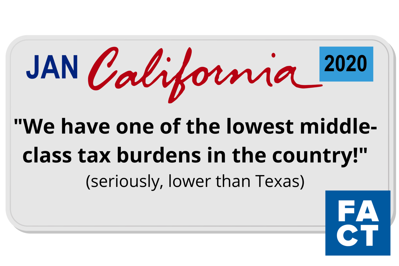CA Middle Class Taxes